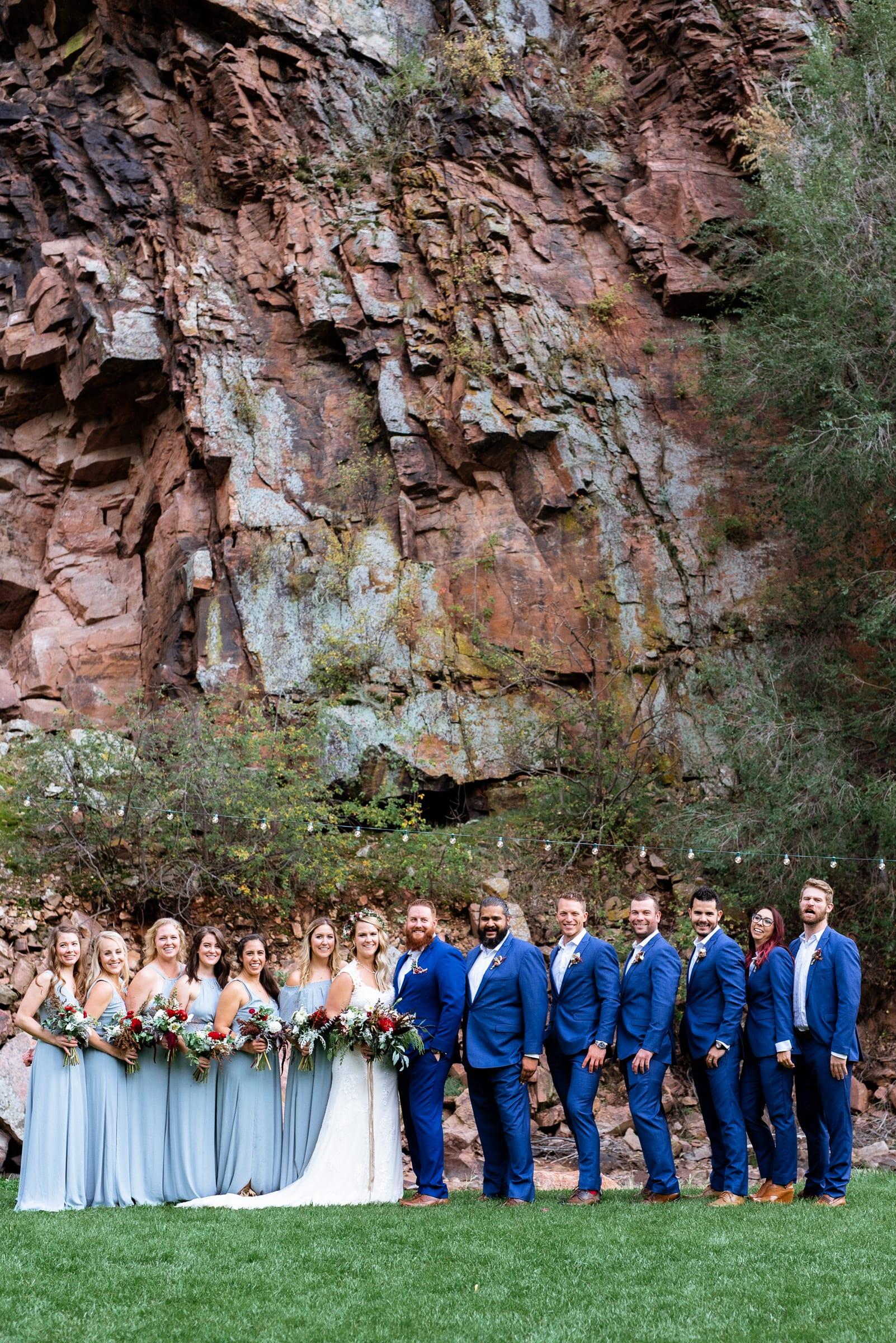 Bridesmaids Style Inspiration at Colorado Wedding | Josie V Photography