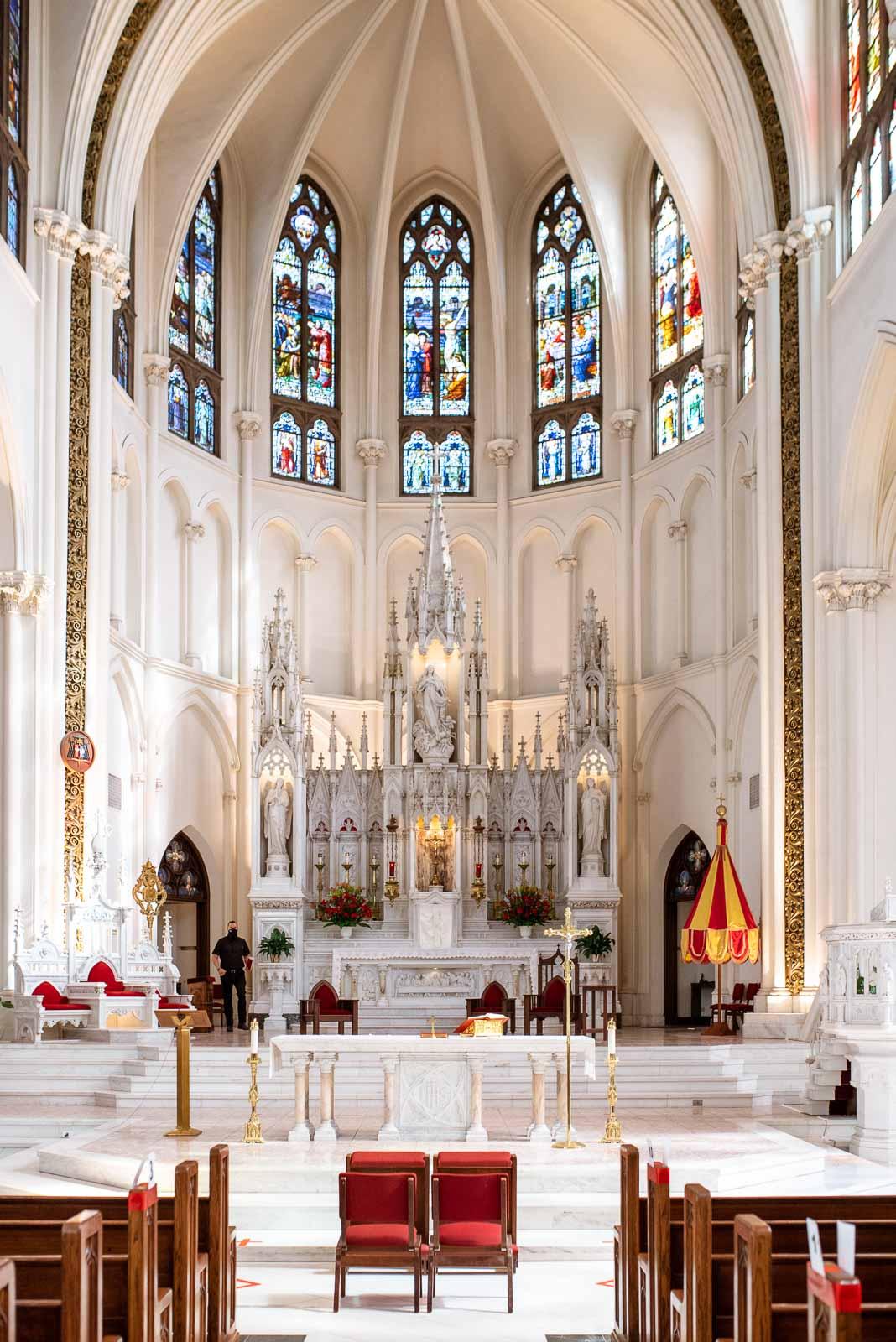 Catholic Colorado Church | Josie V Photography