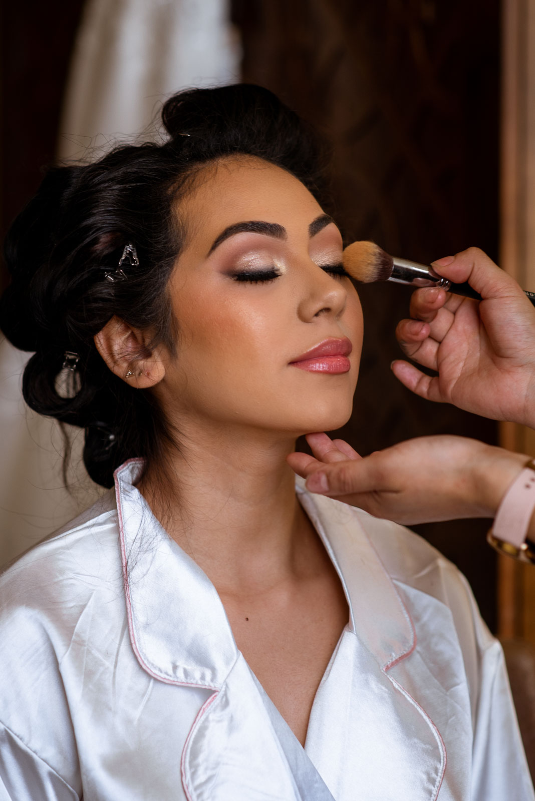 Bridal Makeup by Barbie Gallegos | Josie V Photography