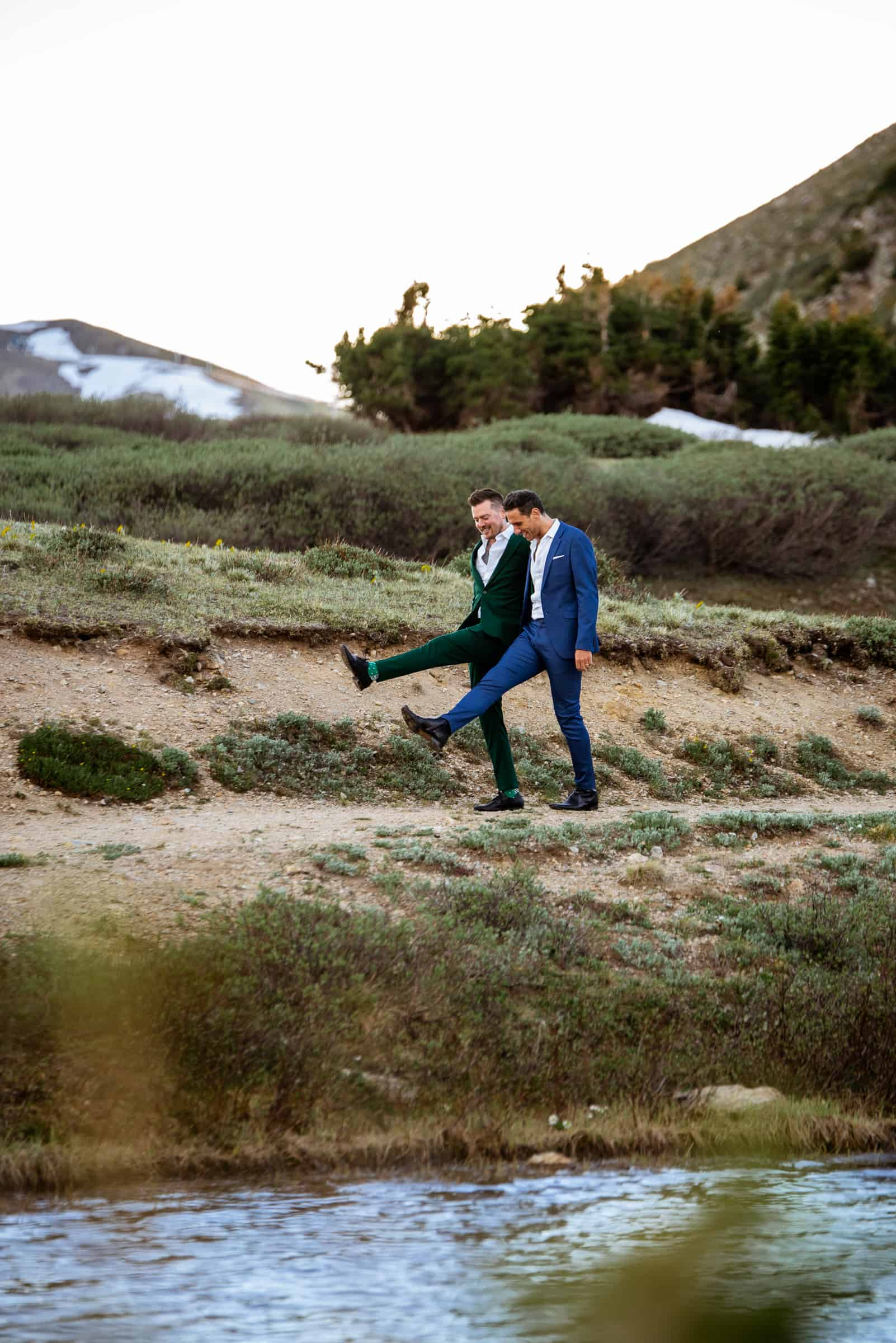 Rocky Mountain Elopement | Josie V Photography