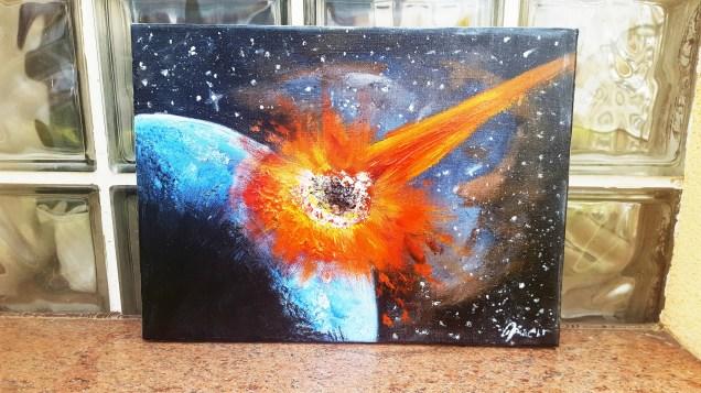 Univers strikes - different light