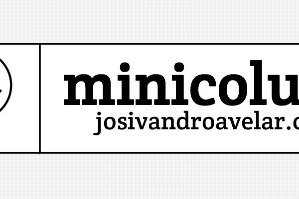 MINICOLUNA- ELA DESCANSA MAS ESTÁ DE VOLTA