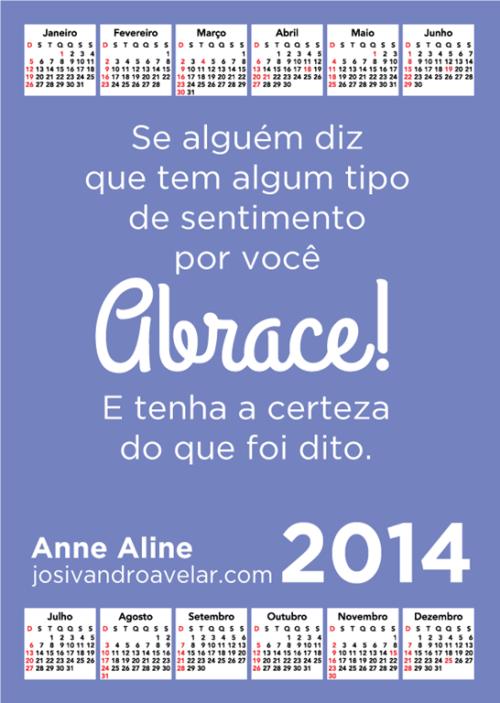 calendário josivandro avelar 2014 5