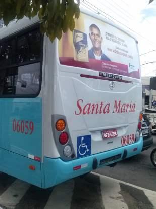 Ônibus da Santa Maria.