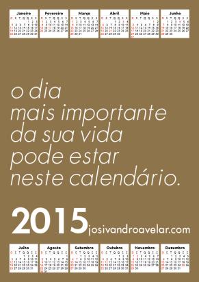 calendário josivandro avelar 2015 16
