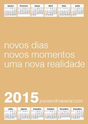 calendário josivandro avelar 2015 5