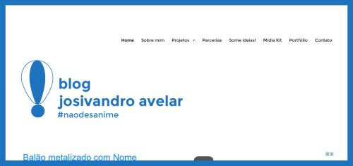 Blog Josivandro Avelar- dezembro de 2015