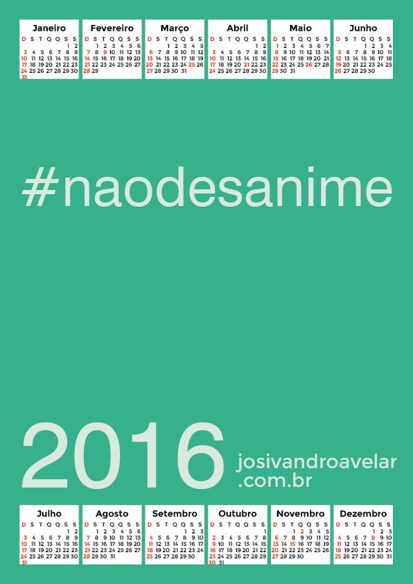 calendário 2016 30