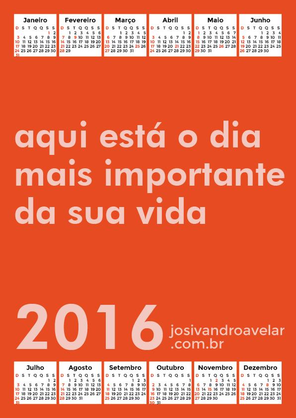 calendário 2016 35