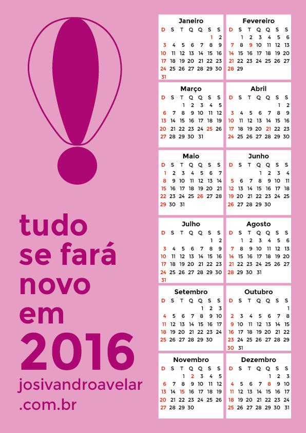 calendário 2016 5