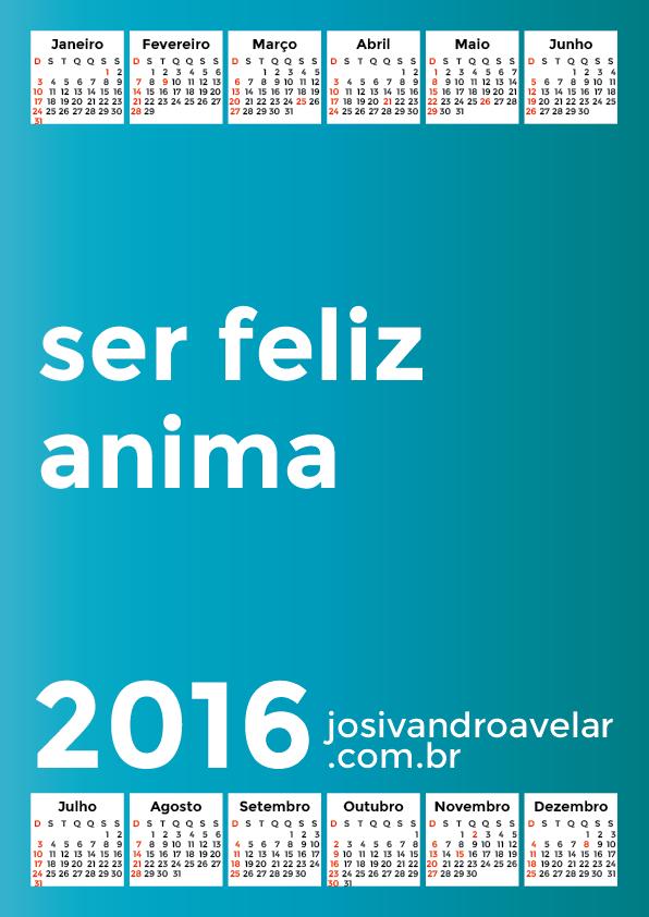 calendário 2016 51