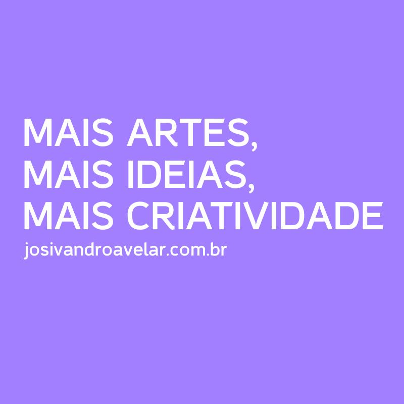 artes, ideias e criatividade
