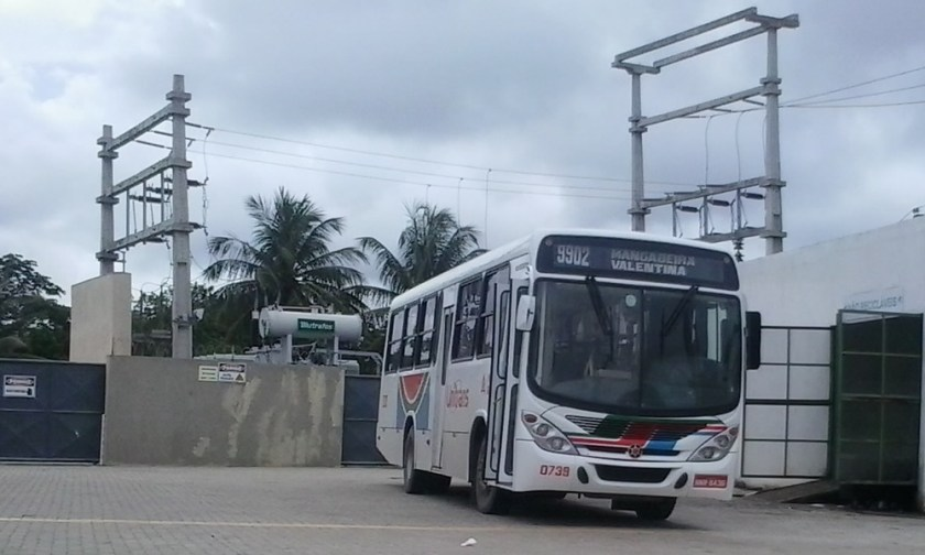 Carro da linha 9902-Mangabeira/Valentina.