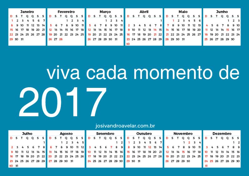 calendário 2017 68