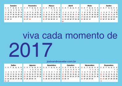 calendário 2017 70