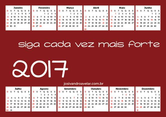 calendário 2017 91