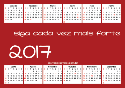 calendário 2017 95