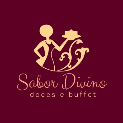 marca sabor divino doces e buffet