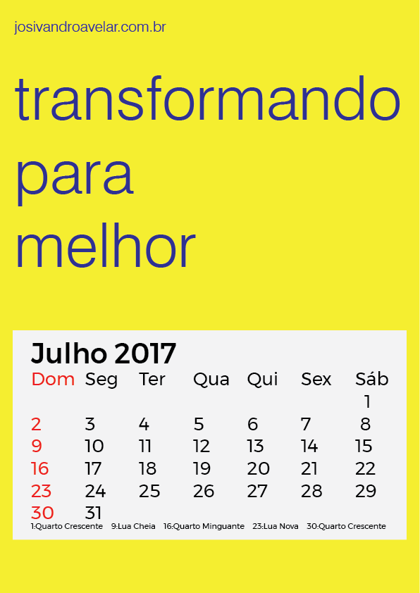 TRANSFORMANDO PARA MELHOR