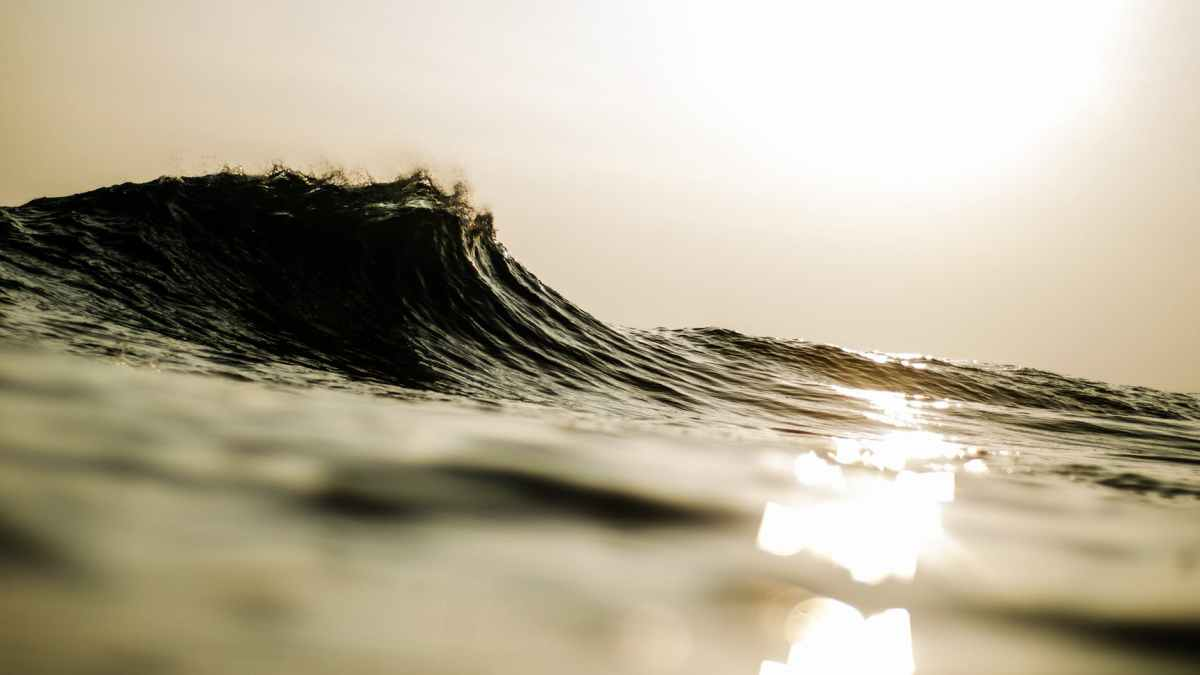 sepia photography of ocean wave