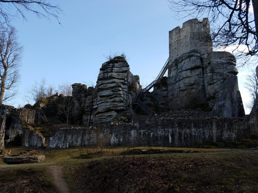 Finally...my jaunt to a German castle