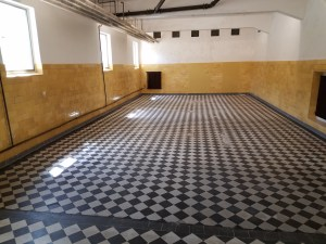 Shower room at Flossenbürg
