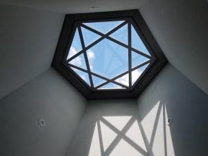 Skylight in Memorial chapel at Flossenbürg