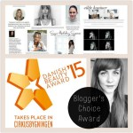 BLOGGER'S CHOICE AWARD – DANISH BEAUTY AWARD 2015