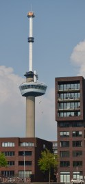 """Abseilers"" from the Euromast"