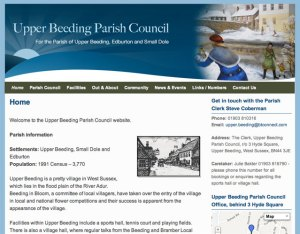 Upper Beeding Parish Council Home page