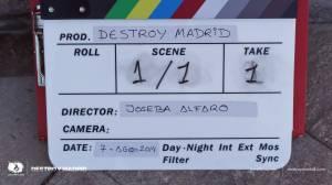 DestroyMadrid Shortfilm JosebaAlfaro Jossfilms Shooting Day2 001
