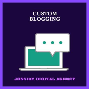 Custom Blogging Services