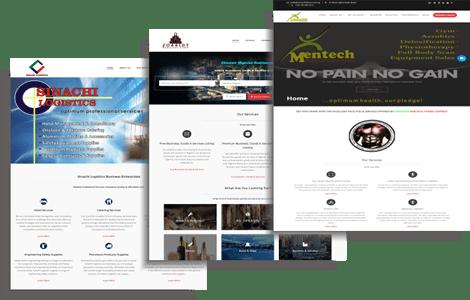 Website Design Home Page Photo of Jossidy Digital Agency , Abuja, Nigeria.