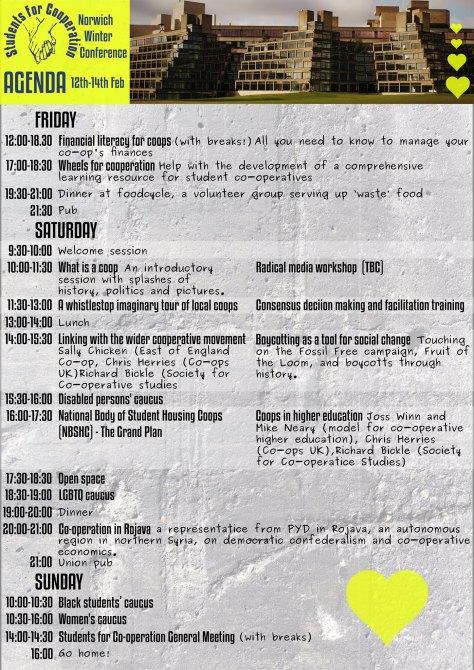 SfC Conf Agenda