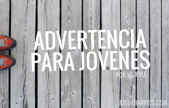 ADVERTENCIA PARA JOVENES