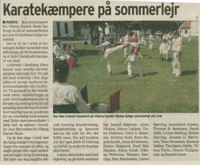 Karatelæmpere-på-sommerlejr