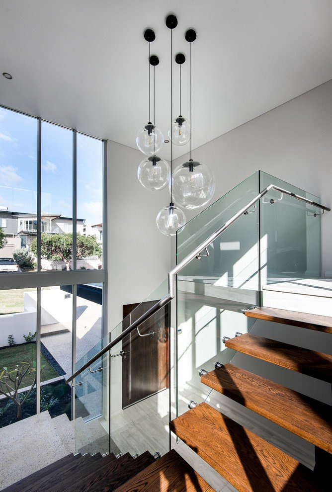 Best Modern Foyer Ideas With Ceiling Lighting Entry Modern And Wooden Front Doors With Pictures