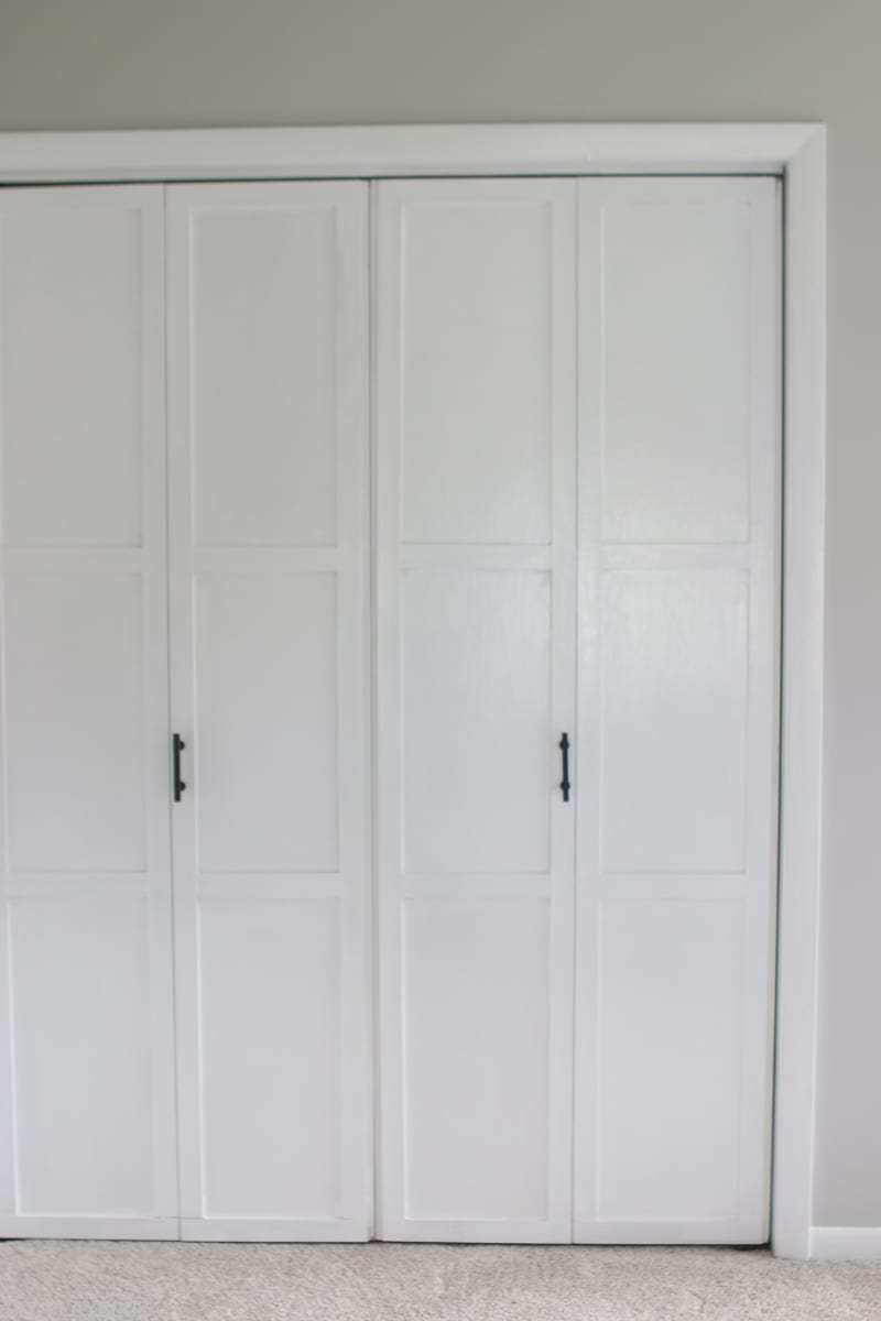 Best Lowes Makeover Bedroom Reveal Closet Doors Vertical Diy Playbook With Pictures