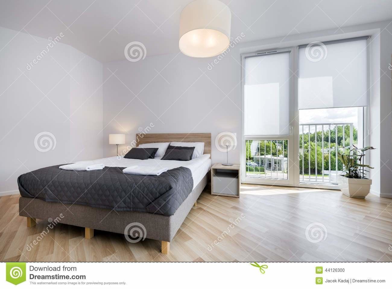 Best Bright And Comfortable Bedroom Interior Design Stock Photo With Pictures