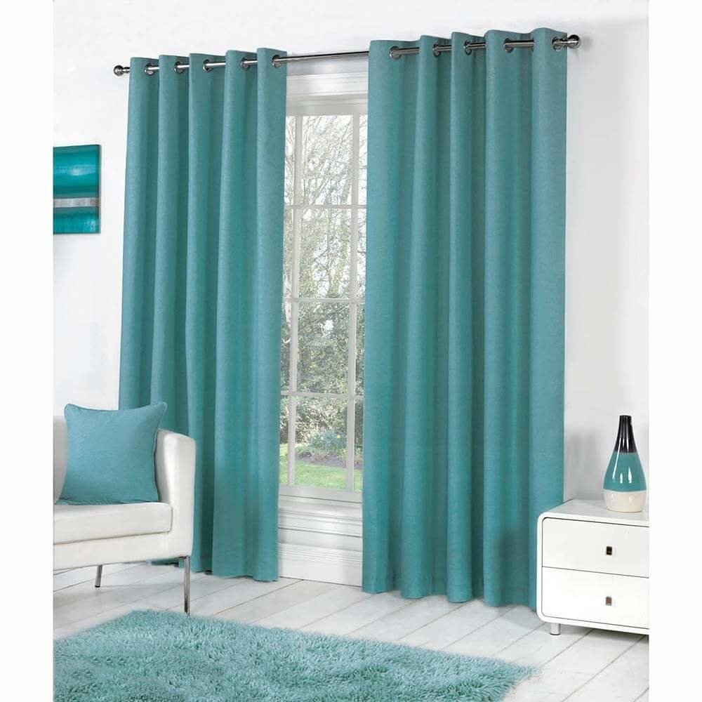 Best Green Bedroom Eyelet Curtains Www Indiepedia Org With Pictures