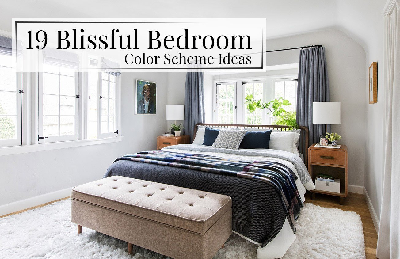Best 19 Blissful Bedroom Color Scheme Ideas The Luxpad With Pictures