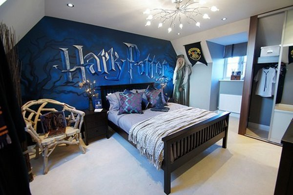 Best Girly Bedroom Ideas With Harry Potter Decoration With Pictures