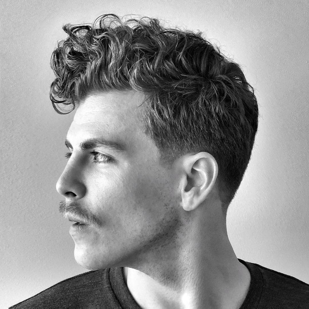 Free The Best Curly Hair Haircuts Hairstyles For Men 2019 Guide Wallpaper