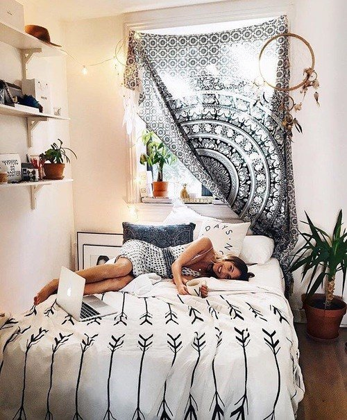 Best Blog 20 Bedroom Decorating Ideas With Tapestries With Pictures