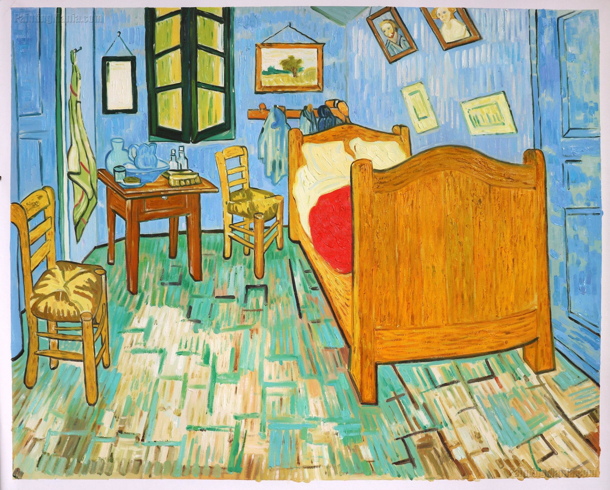 Best Vincent S Bedroom In Arles 1889 Vincent Van Gogh Paintings With Pictures