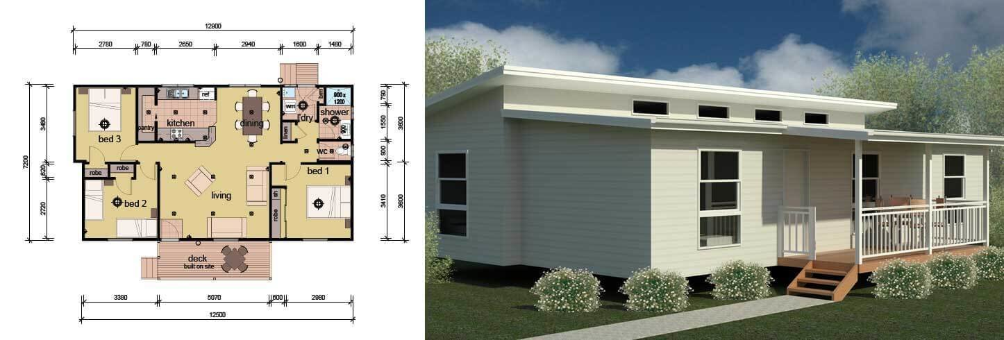Best The Boyd 3 Bedroom Modular Home Parkwood Homes With Pictures