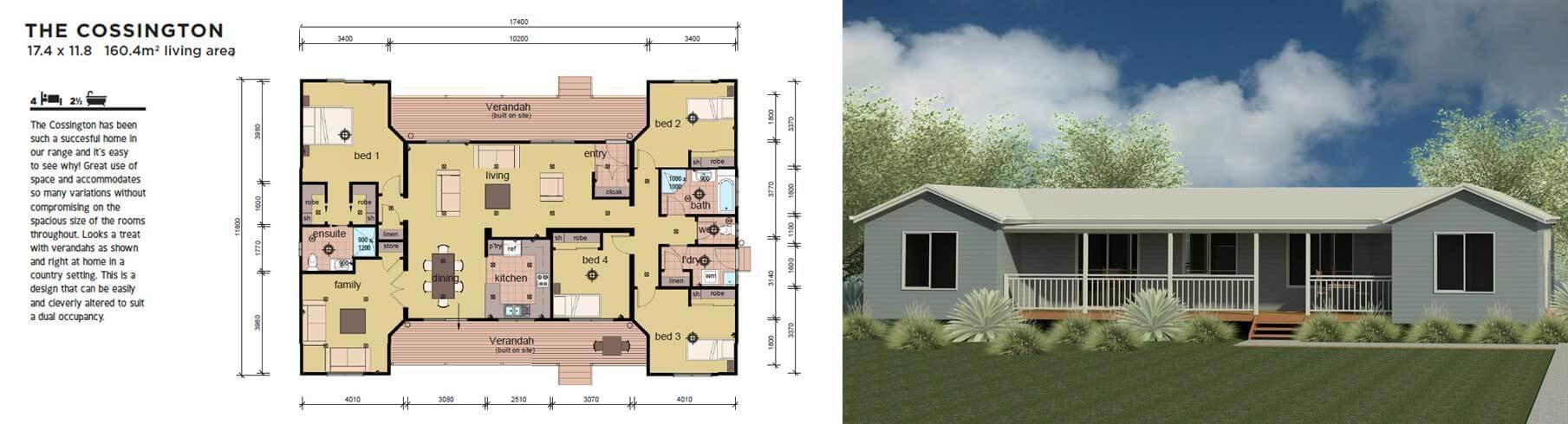 Best The Cossington 4 Bedroom Modular Home Parkwood Homes With Pictures