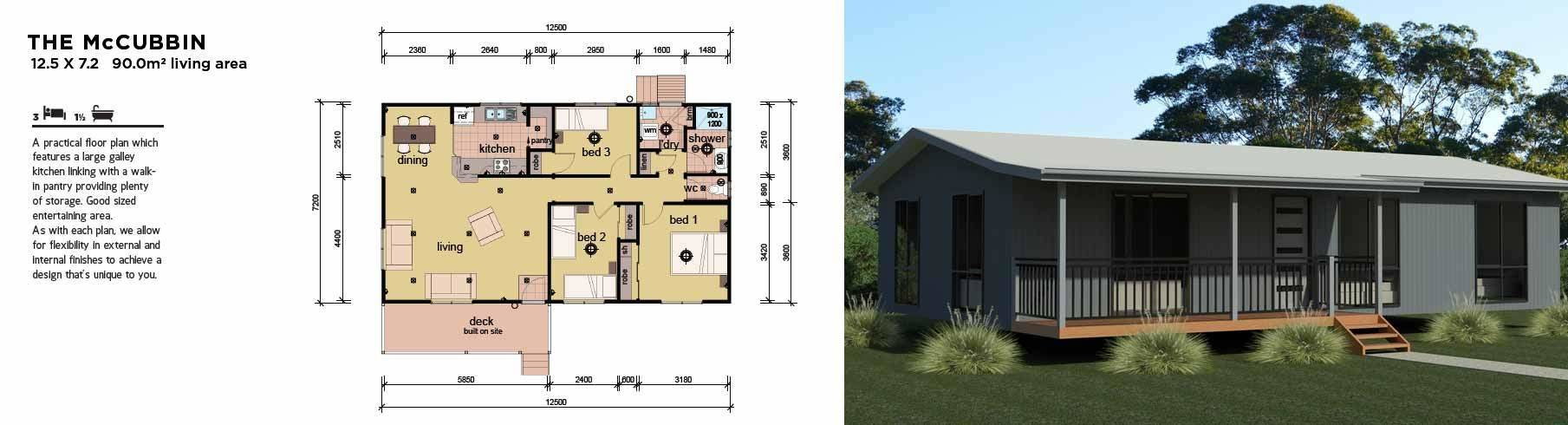 Best 3 Bedroom Manufactured Modular Homes Design Plans With Pictures