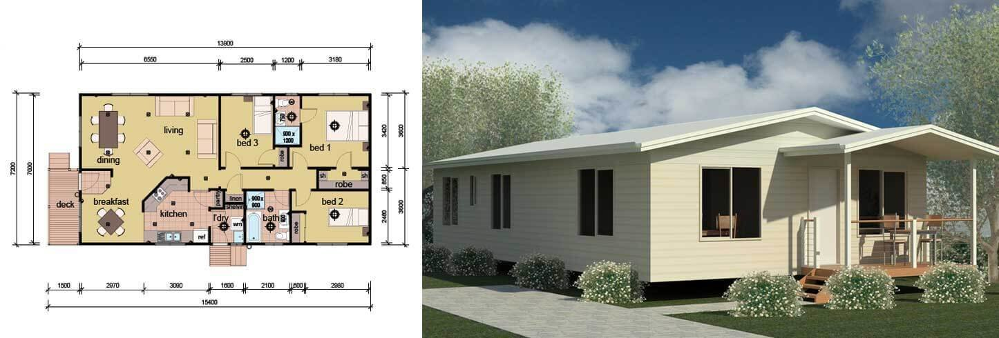 Best The Patterson 3 Bedroom 2 Bathroom Modular Home Parkwood Homes With Pictures