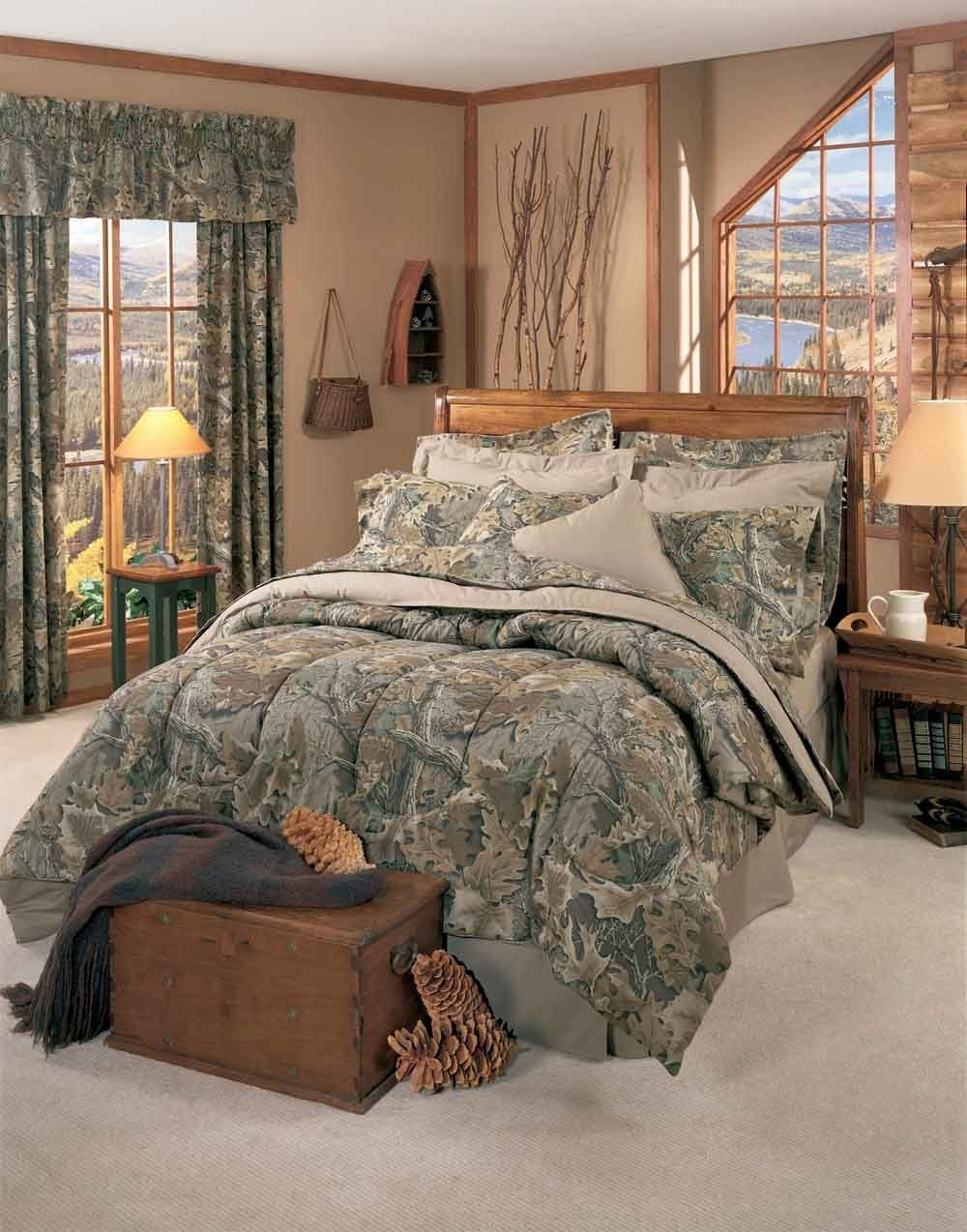 Best Realtree Advantage Camo Comforter Sets Cabin And Lodge With Pictures